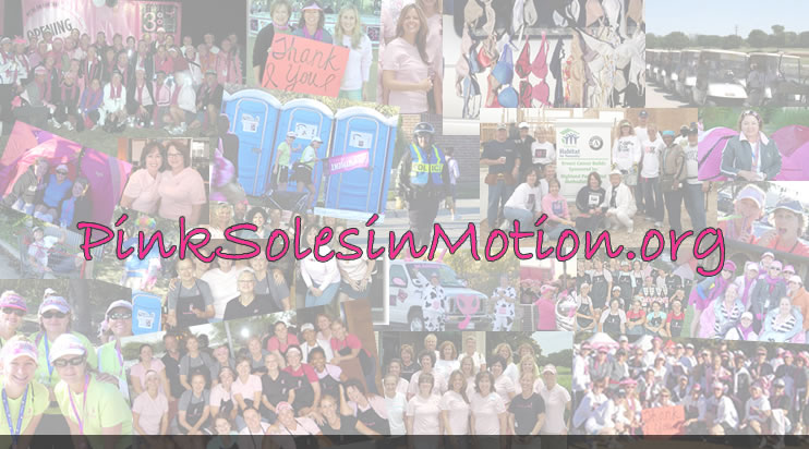Welcome to PinkSolesinMotion.org - The Forum for the DFW 3-Day team, Pink Soles in Motion